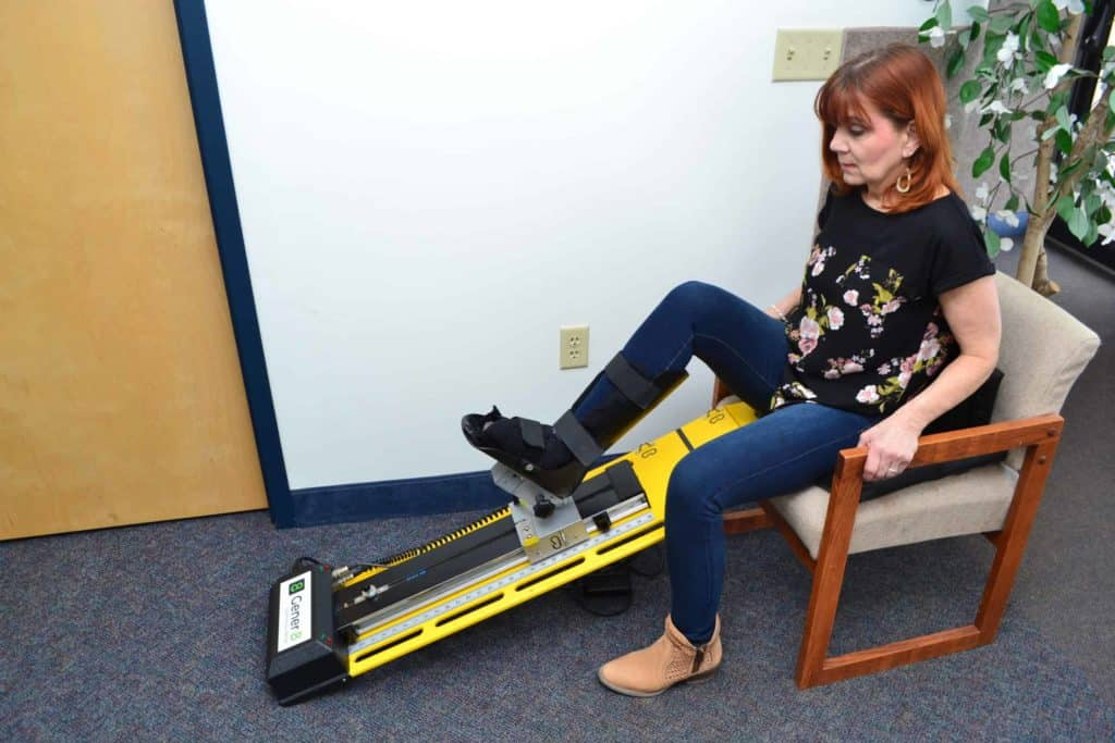 Knee Continuous Rehabilitation Machine CRM